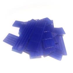 Verglasungsklötze blau (Stärke 2 mm)