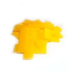 Verglasungsklötze gelb (Stärke 4 mm)