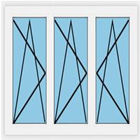 Öffnungsrichtung (dreiflügelig)