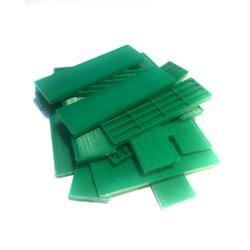 Verglasungsklötze grün (Stärke 6 mm)